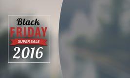 Design för Black Friday försäljningsinskrift Arkivbilder