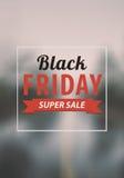 Design för Black Friday försäljningsinskrift Royaltyfria Bilder