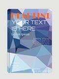Design för för för affärsreklambladmall, broschyr eller räkning Arkivfoton