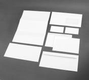 Design för företags identitet royaltyfria bilder