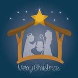 Design för glad jul vektor illustrationer