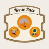 Design för hästridning Royaltyfri Bild