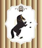 Design för hästridning Royaltyfri Fotografi