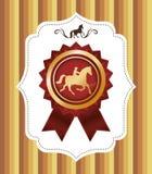 Design för hästridning Royaltyfri Foto