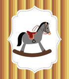 Design för hästridning Arkivbilder