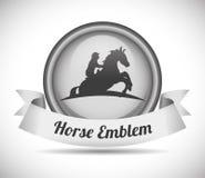 Design för hästridning Royaltyfria Bilder