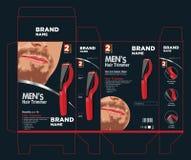 Design för hårbeskärarepacke Royaltyfri Bild