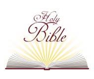 Design för helig bibel Royaltyfri Fotografi