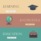 Design för Infographic utbildningsmall framförd illustrationbild för begrepp 3d Royaltyfri Foto