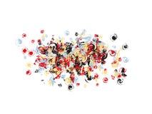 Design för konfettier för popkonst stock illustrationer