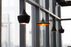 Design för lampinrehem Arkivbild