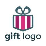 Design för logo för gåvaask Royaltyfri Foto