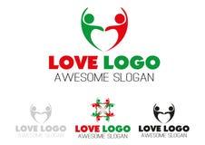 Design för logo för parlaghjärta Royaltyfri Foto