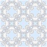 DESIGN för MODELL 3d för dekorativ FÄRGvektor SÖMLÖS blom- royaltyfri illustrationer