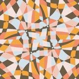 Design för modell för vektor för bakgrund för kalejdoskopmosaiktegelplatta stock illustrationer