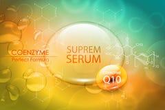 Design för omsorg för hud för skönhetbehandlingnäring Vektorbegrepp för rengöringsduk och tryck stock illustrationer