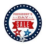 design för presidentdagförsäljning vektor illustrationer