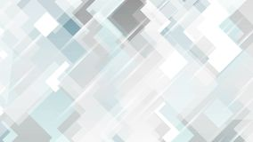 Design för rörelse för tech för blåa grå färger minsta geometrisk stock video
