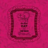 Design för ram för inställninguttrycksinsida Royaltyfri Foto