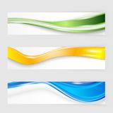 Design för reklambladmalltitelrad vektor illustrationer