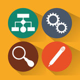 Design för rengöringsdukbärare Royaltyfri Bild