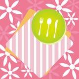 Design för restaurangmenybegrepp Royaltyfri Fotografi