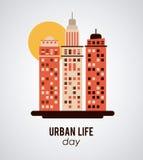 Design för stads- liv Royaltyfria Foton