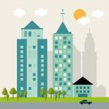 Design för stads- liv Fotografering för Bildbyråer