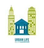 Design för stads- liv Royaltyfri Bild