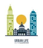 Design för stads- liv Royaltyfri Fotografi