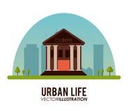 Design för stads- liv Arkivbilder