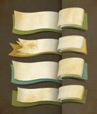 Design för tappningstilbaner Royaltyfria Bilder