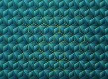 Design för tech för abstrakta trianglar för lutning blåa geometrisk Illustrationvektor eps10 vektor illustrationer