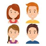 design för ung person Arkivbild