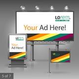 Design för utomhus- advertizing Royaltyfri Bild