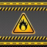 Design för varningstecken Royaltyfria Bilder