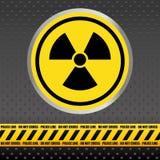 Design för varningstecken Arkivfoto