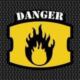 Design för varningstecken Royaltyfri Foto