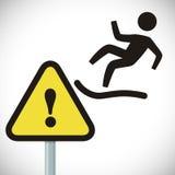 Design för varningstecken Arkivbilder