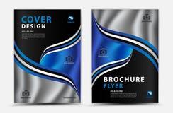 Design för vektor för årsrapporträkningsdesign, broschyrreklamblad, mgazineannons, annonsering, bokomslagorientering, affisch, ka vektor illustrationer