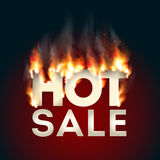 Design with Fire. Hot Sale Royalty Free Stock Photography