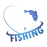 Design fishing Stock Images