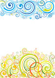 Design floral background Stock Images