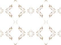 Design floral de repetir linhas ilustração stock