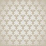Design floral e fundo seemless bonitos ilustração royalty free