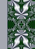 Design of floral ornamental notebook cover Stock Photo