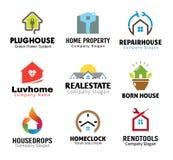 Design för reparation för husproppkabel Arkivbild