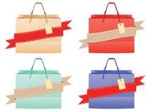 Design för shoppingpåse Royaltyfria Bilder