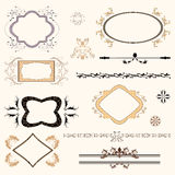 Design frames & elements Royalty Free Stock Photos