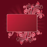 Design with free place for your text Royalty Free Stock Photography